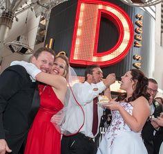 12 Newlywed Couples Celebrate Mass 12-12-12 Wedding at the D Las Vegas