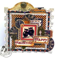 Card: Happy Haunting