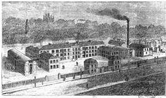 IVRY-SUR-SEINE  La manufacture Alexandre Père et Fils, rue du Parc, actuelle rue Gabriel-Péri.  Manufacture Alexandre.jpg