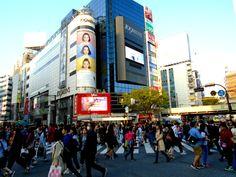 Shibuya 109 Men's at Shibuya crossing