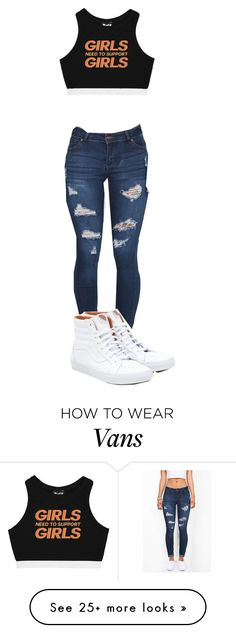 """Untitled #448"" by shiane816 on Polyvore featuring Vans"