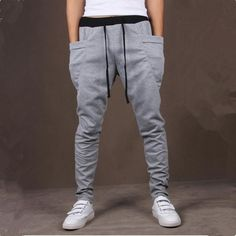 8 Colors 2015 Unique Pocket Mens Joggers Cargo Pants Sweatpants For Men Hip Hop Harem Pants Men Outdoor Jogging Sport Pants Men Mens Joggers Sweatpants, Mens Jogger Pants, Skinny Joggers, Sport Pants, Slim Joggers, Slim Pants, Cargo Pants, Sarouel Pants, Harem Pants Men