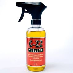 C-22 Adhesive Solvent 12.0 oz Spray