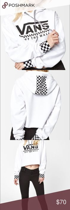 VANS CROPPED HOODIE From pacsun Vans Jackets & Coats