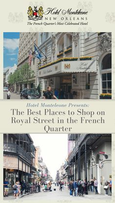 Shopping in New Orleans? Just step outside our front doors. Check out our latest blog for a guide to the antique shops, art galleries, and clothing boutiques of Royal Street. #NewOrleans #HotelMonteleone