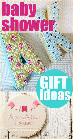 Creative Baby Shower Gift Ideas. Cute DIY gifts for any occasion.