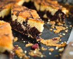 Pandispan tigrat cu zmeura - Katty.ro Desserts, Food, Tailgate Desserts, Deserts, Essen, Postres, Meals, Dessert, Yemek