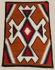 Navajo Ganado Rug. This and other rare Navajo textiles for sale on CuatorsEye.com