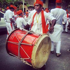 Indian bigass drums.