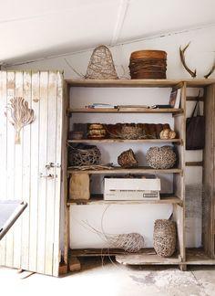 Harriet Goodalls soon-to-be-extended home studio.