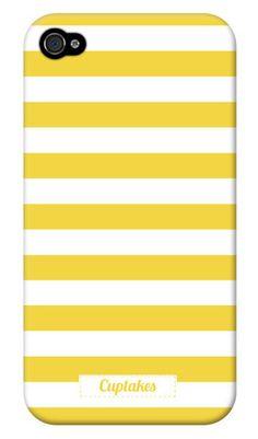 yellow stripe iPhone case.