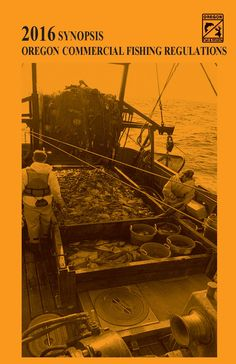 Synopsis, Oregon commercial fishing regulations, by the Oregon Department of Fish and Wildlife