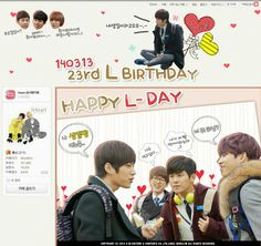 [PIC]INFINITE official cafe layout -Happy L-Day pic.twitter.com/h16F4vIoyP