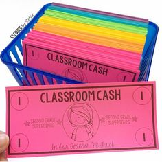 Have you ever used classroom money with your students? Not only is it motivating… Have you ever used classroom money with your students? Not only is it motivating, but it allows students opportunities to. Classroom Money, Classroom Library Labels, Classroom Economy, Classroom Behavior Management, 2nd Grade Classroom, Kindergarten Classroom, Future Classroom, School Classroom, Classroom Activities