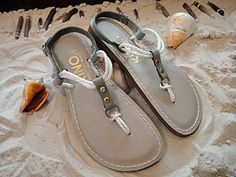 Kino sandals manufactured in Key West, Florida, USA(!). $13.00