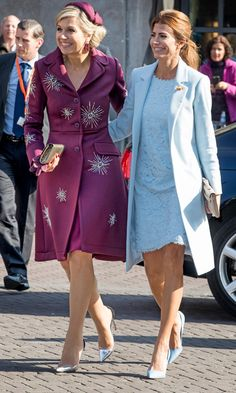 Queen Maxima finds style pal in Argentina's first lady Juliana Awada