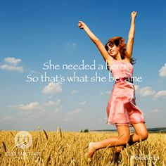 She needed a hero. So that's what she became! Vx #blissbits #bliss #blissful #followyourbliss #quote #inspiration #motivation #women #sanctuary #girl #bali #saying #wise #words