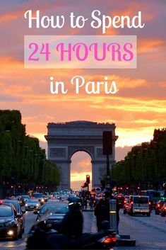Even if you only have a short time to spend in Paris, there's so much to see! This guide will help you maximize your time in the city. Paris | France | city guide | 24 hours | travel | travel blogger | Europe | Europe trip