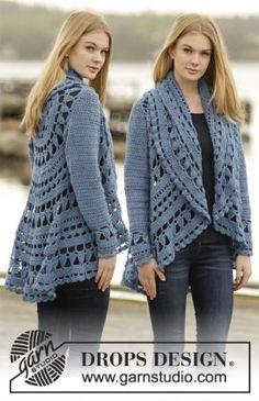 Lace Circle Jacket Free Crochet Pattern