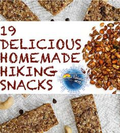Who's ready to hit the trails? Make sure you take some snacks! Here's a list of 19 homemade snacks to take with you! http://www.buzzfeed.com/christinebyrne/homemade-hiking-snacks#2lqjlxe