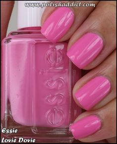 Essie Lovie Dovie ~ it's like Barbie pink!
