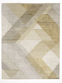 Area rug, geometric pattern Carpet Diy, Beige Carpet, Patterned Carpet, Modern Carpet, Wool Carpet, Modern Rugs, Rugs On Carpet, Stair Carpet, Cheap Carpet