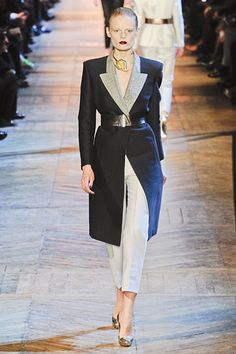 Love this Yves Saint Laurent Fall 2012 coat