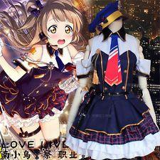 Women Anime Lovelive Kotori Minami Police Uniform Cosplay Costume Fancy Dress