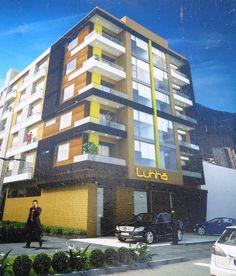 Edificio Luhhó. Bogotá - Render