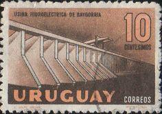 ウルグアイ 1958 水力発電所