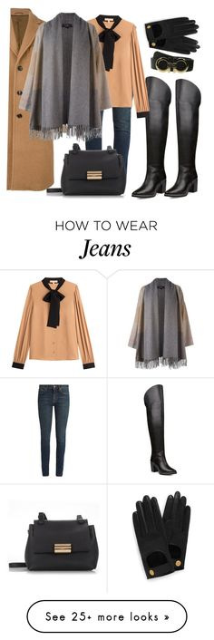 """Thigh high boots"" by ellenfischerbeauty on Polyvore featuring Yves Saint Laurent, Ted Baker, Salvatore Ferragamo, Michael Kors and Mulberry"