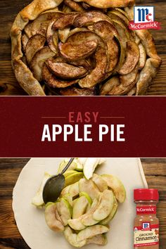 Refrigerated pie crusts and chopped apples come together to form this perfect Easier than Apple Pie. Added bonus: The scent of cinnamon will make your home smell delicious for the holidays.