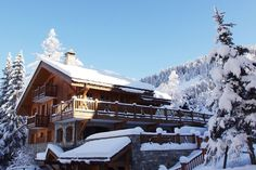 Méribel, France: Ski Chalets for Sale : Architectural Digest