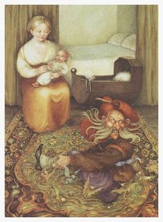 Pauline Ellison illustrations for ' Grimm's Fairy Tales' - Quora Brothers Grimm Fairy Tales, Grimm Tales, Blue Fairy, Fairy Land, Rapunzel, Rumpelstiltskin, Fairytale Art, Woodland Creatures, Illustrations And Posters