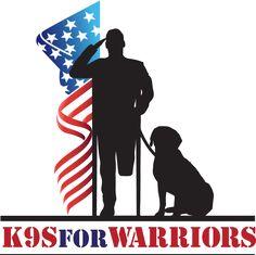 k9s for warriors logo