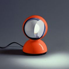 Artemide Eclisse table lamp Ø 12 H: 16 cm, orange, 0028050A - Reuter Badshop