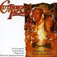 Cutthroat Island Import, Soundtrack Edition (1996) Audio CD