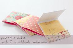 Matchbook needle cases