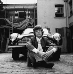 Mike Jagger & Aston Martin, 1966 Gered Mankowitz