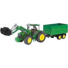 John Deere 7930 mit Frontlader John Deere 7930, Types Of Farming, Product Offering, Lawn Mower, Outdoor Power Equipment, Toys, Vehicles, Car, Tractor