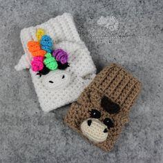 Unicorn Fingerless Gloves Pattern - Instant Download - Crochet Fingerless Gloves Pattern - Horse crochet Pattern - Horse Glove Pattern by TheCheerfulChameleon on Etsy