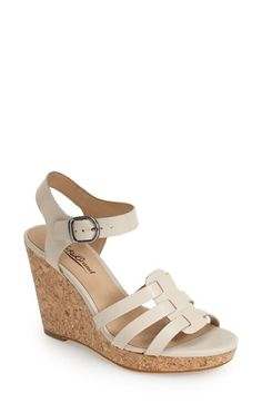10bd145a4b34 Lucky Brand  Willows  Wedge Sandal (Women) available at  Nordstrom Dressy  Attire