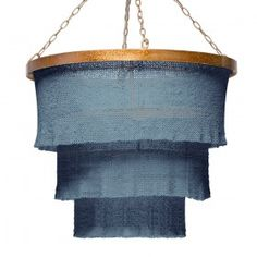 Made Goods Patricia Chandelier-Turquoise/Gold