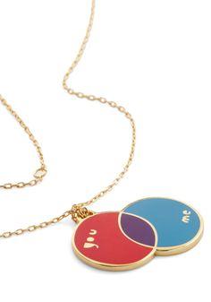 diagram necklace--- ModCloth.com