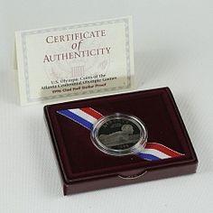 USA Half Dollar Swimming Olympic Games Atlanta Coin Sport 1996