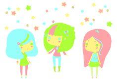 The Star Sisters by miss-octopie.deviantart.com on @deviantART