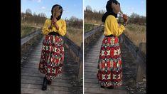 ✂️coudre une jupe longue avec du WAX✂️