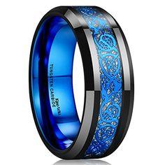 King Will 8mm Black Tungsten Ring Blue Celtic Dragon Inla... https://www.amazon.ca/dp/B00LEBVMW4/ref=cm_sw_r_pi_dp_U_x_LaRGAbJ0G3QJD