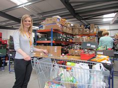 You can bank on Norfolk NHS staff to help those in need. Norwich Food Bank