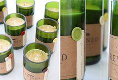 Rewined Candles — The Dieline - Branding & Packaging